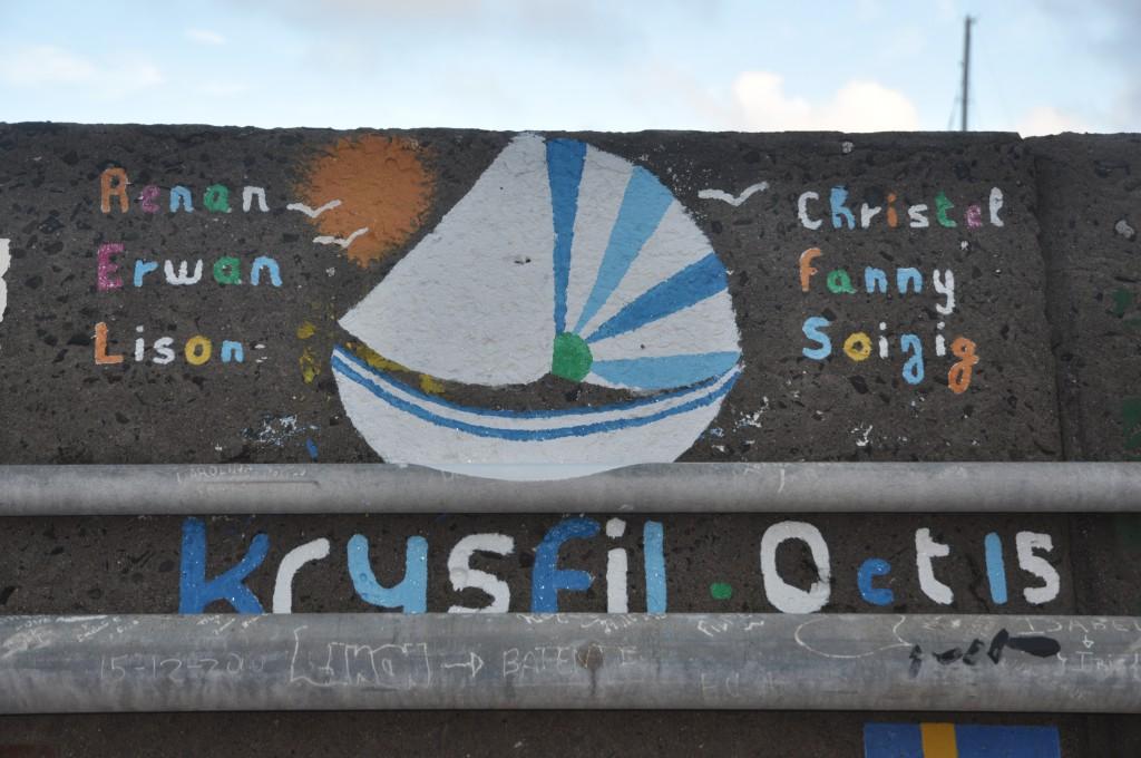 krysfil sur le quai de Funchal
